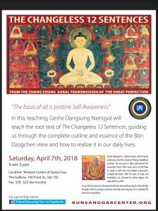 Calendar – Kunsang Gar Meditation Center
